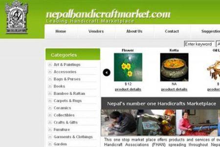 nepal handi craft market